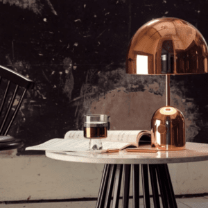 Tom Dixon_bell_table_light_copper_with_tank_and_cube_bord.ch