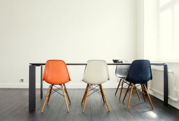 Eames Plastic Side Chair - DSW 3
