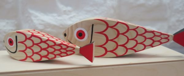 Wooden Dolls - Fish 1