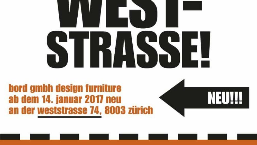 Bord goes WESTstrasse 74