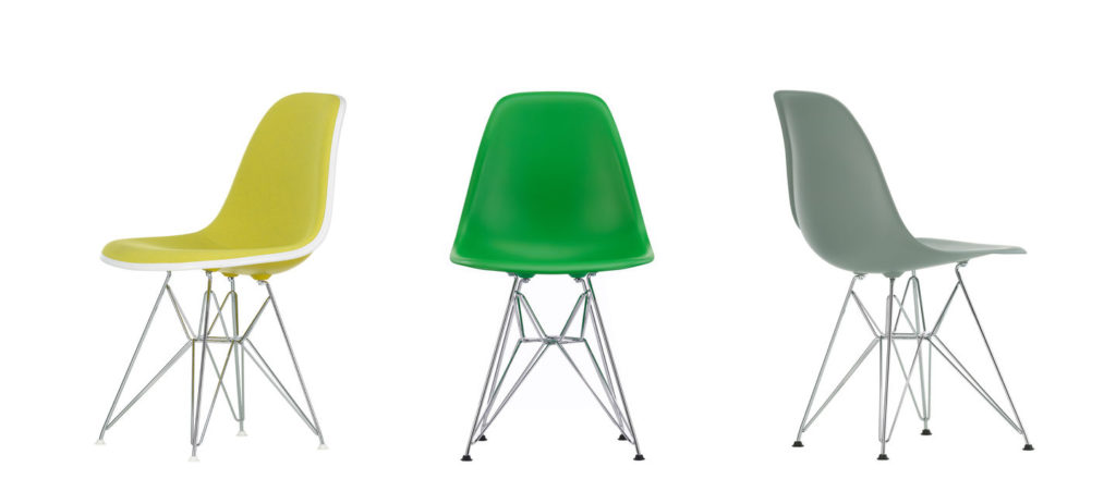 Eames Plastic Side Chair - DSR 7