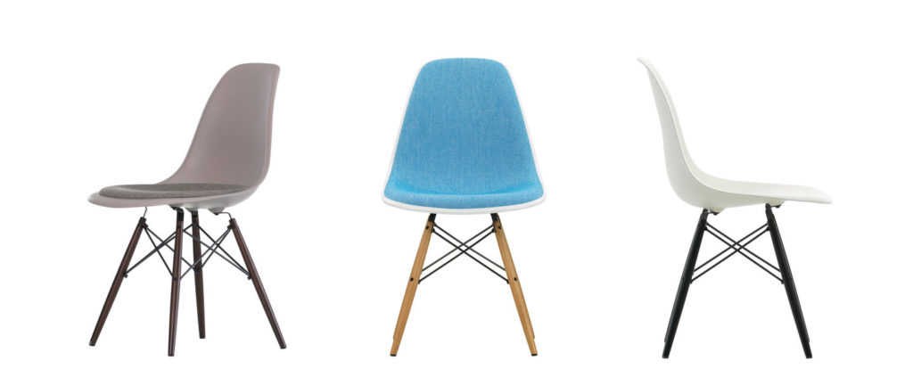 Eames Plastic Side Chair - DSW 8