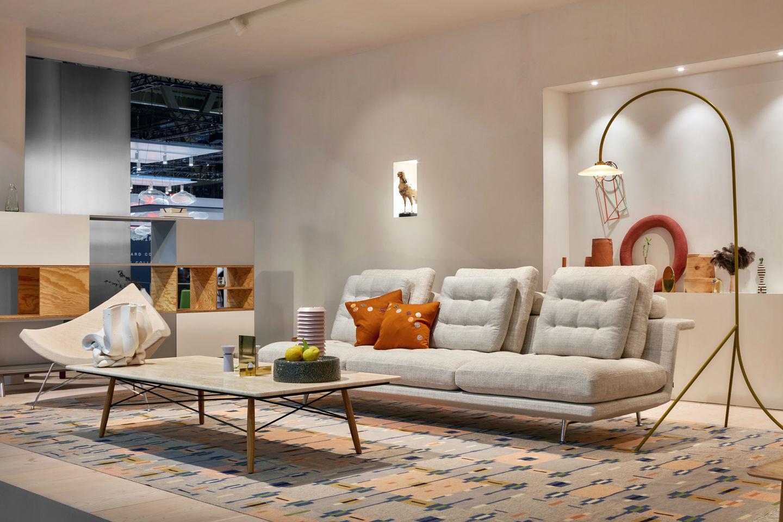 Grand Sofa Vitra Bord Design Furniture