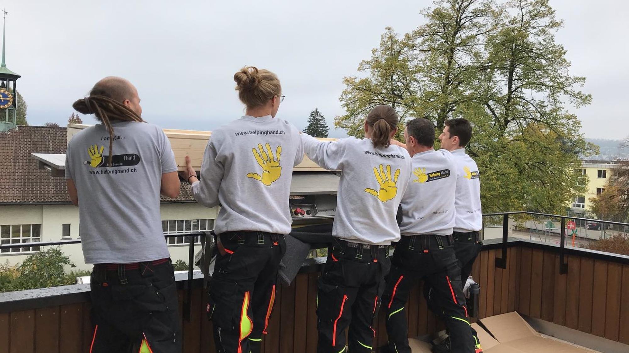 Das Team von Helping Hand