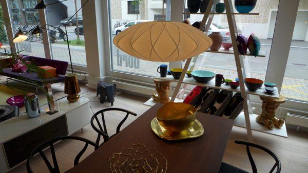 Bubble Lamp Saucer Crisscross 1