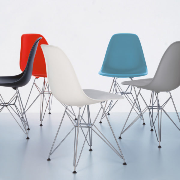 Eames Plastic Side Chair - DSR 1