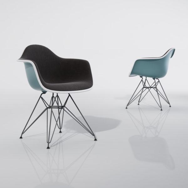 Eames Plastic Armchair DAR 1