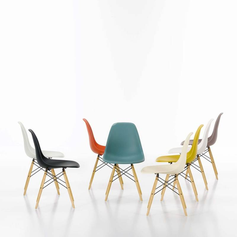 Eames Plastic Side Chair Dsw Bord Design Furniture
