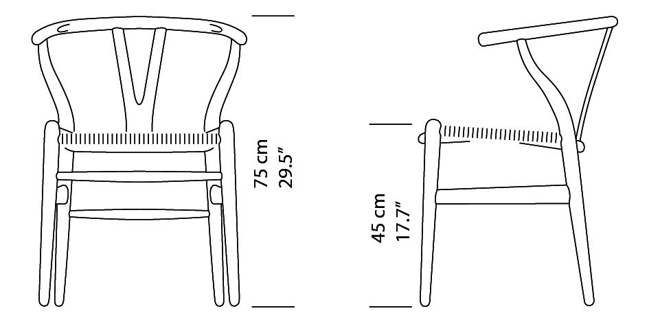 Wishbone Chair CH24 5