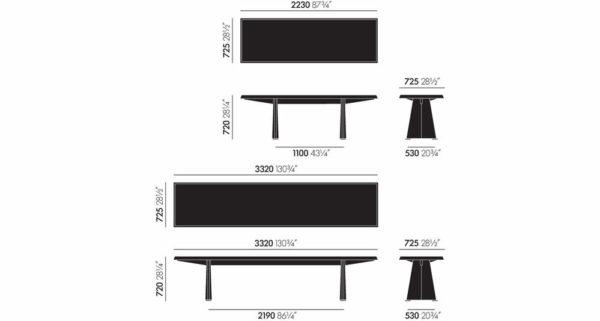 Tisch Trapèze - 30% 2