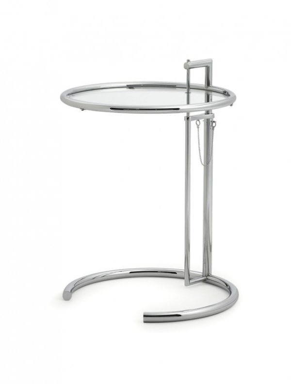 Adjustable Table E 1027, Eileen Gray 1927 1