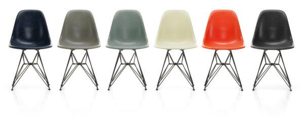 Eames Chairs in Fiberglass (DSW, DSR, DSX) 2