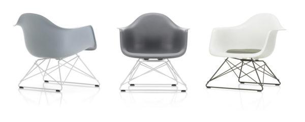 Eames Plastic Armchair LAR 3