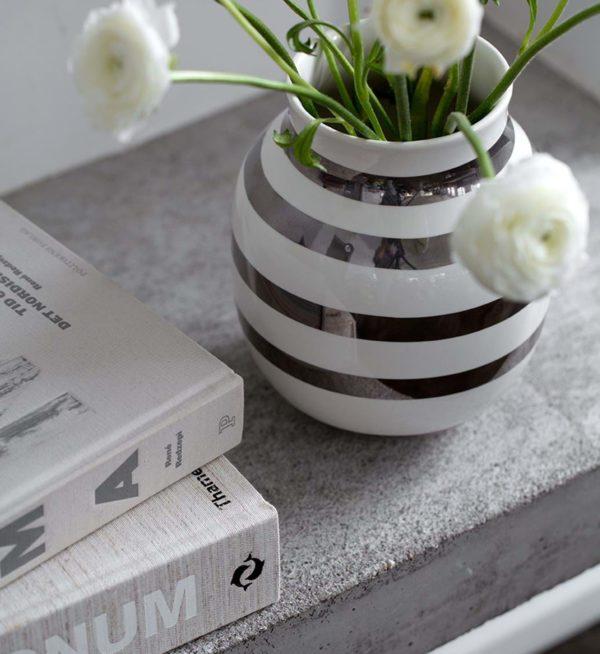 Omaggio Vase und Schale 2