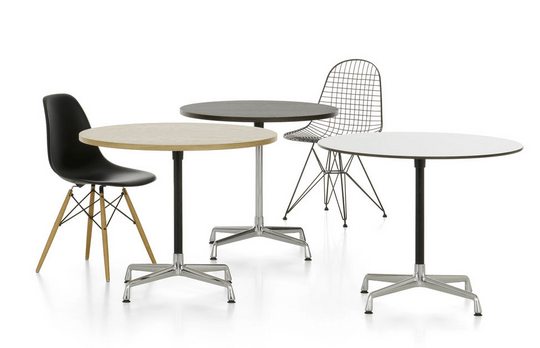 Eames Contract Table rund - 20% 3
