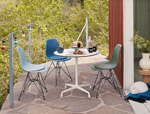 Eames Contract Table rund - 20% 2